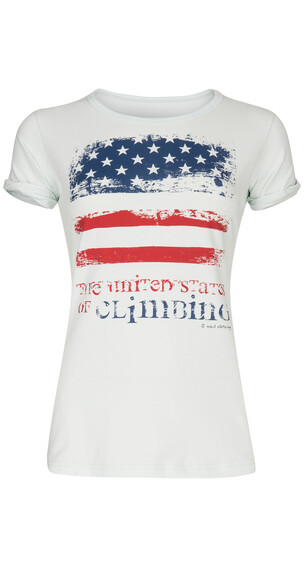 Nihil US of Climbing Tee Women Spa White